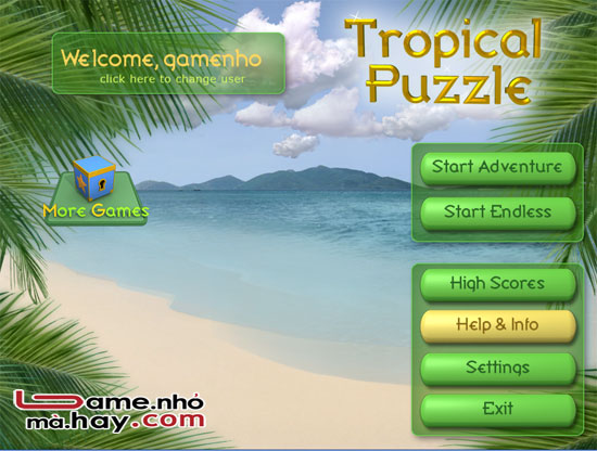 Tropical-puzzle